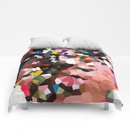 Evolution Geometric Shapes Comforters