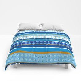 hanukkah wrap Comforters