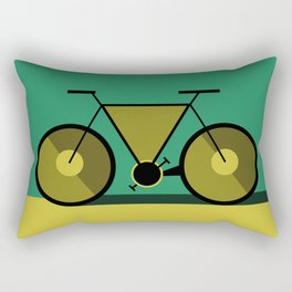 Abstract Cycle Rectangular Pillow