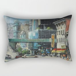 Where Can You Find Dragons, Coppolas & a Giant Nozzle. Rectangular Pillow