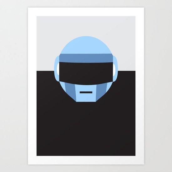 Thomas Bangalter   Daft Punk Art Print