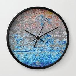 Dead Frost Skulls (Lighter) Wall Clock