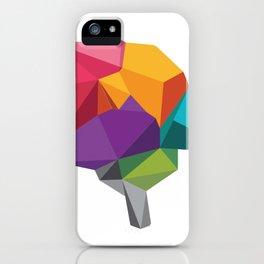 creative brain iPhone Case