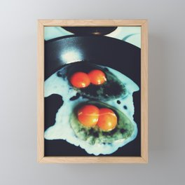 Double Yolk I Framed Mini Art Print