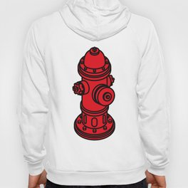 Red  fire hydrant Hoody