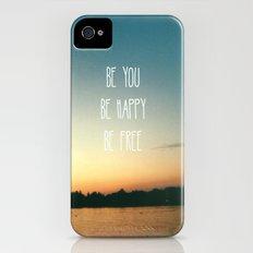Be happy iPhone (4, 4s) Slim Case