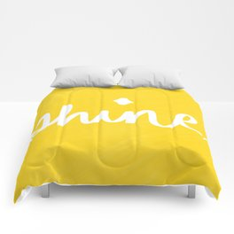 Shine on Yellow Comforters