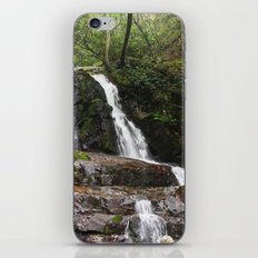 Tennessee Waterfall Smoky Mountains Color Photo iPhone & iPod Skin