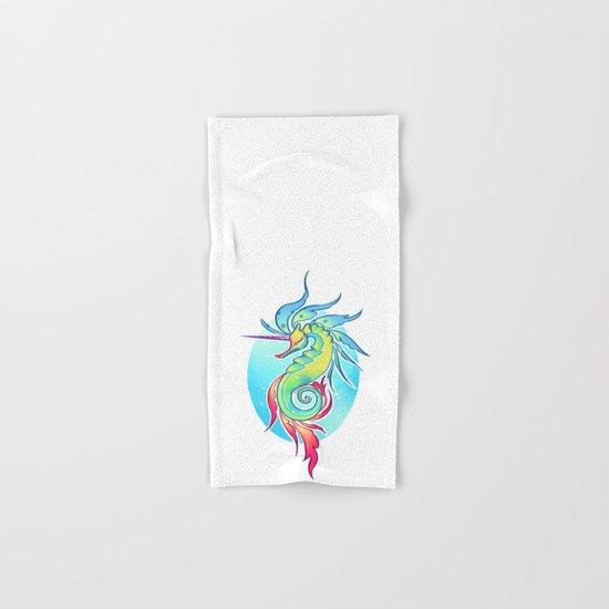 Sea Unicorn Hand & Bath Towel