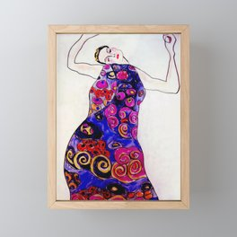 The Embrace Reimagined By James Thomas Ryan Framed Mini Art Print