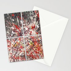 Trezzo - quadriptych (4 panels) Stationery Cards