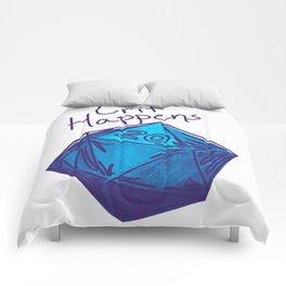 Crit Happens D20  Comforters