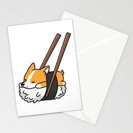 Corgi Sushi Stationery Cards