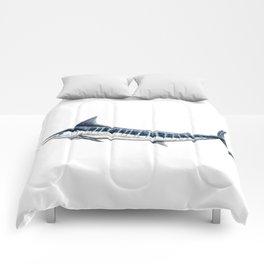 Blue Marlin (Makaira nigricans) Comforters