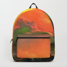 Ivan Aivazovsky - The Ninth Wave - Digital Remastered Edition Backpack