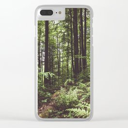 Woodland - Landscape and Nature Photography Clear iPhone Case