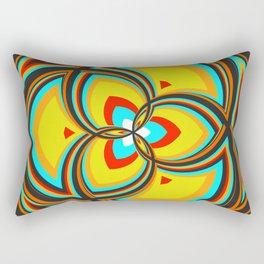 Spiral Rose Pattern A 2/4 Rectangular Pillow