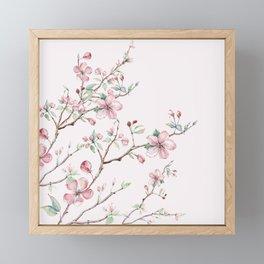 Apple Blossom Pink #society6 #buyart Framed Mini Art Print