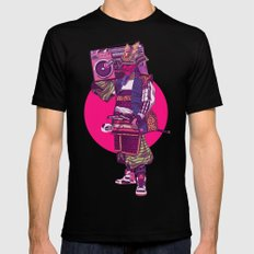 Hip-Hop Samurai Black MEDIUM Mens Fitted Tee