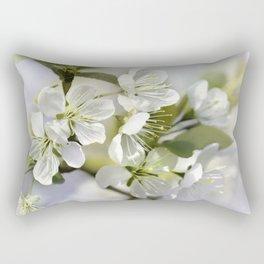 Spring white 044 Rectangular Pillow