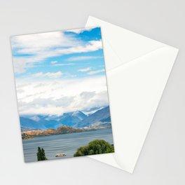Cloudy summer day at Wanaka, New Zealand Stationery Cards