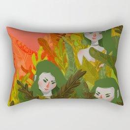 siren sisters Rectangular Pillow