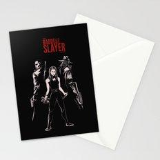 The Baddest Slayer Alive Stationery Cards
