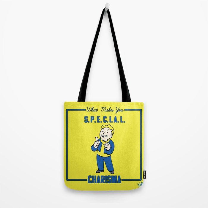 Charisma S.P.E.C.I.A.L. Fallout 4 Tote Bag