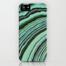 Mineralicious~Mint Tourmaline Slim Case iPhone (5, 5s)