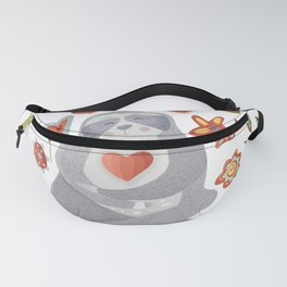 Sloth Pattern #4 Fanny Pack