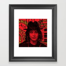 Jack White, we're going to be friends Framed Art Print