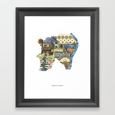 District XI. Budapest Framed Art Print