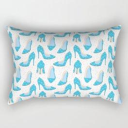 Blue shoes Rectangular Pillow