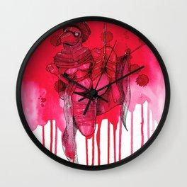 Plague Doctor Shibari Wall Clock