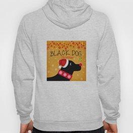 Black Dog Christmas Hoody