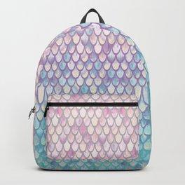 Spring Mermaid Scales Backpack