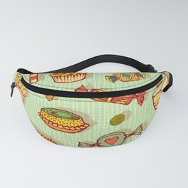 candy and pastries Fanny Pack
