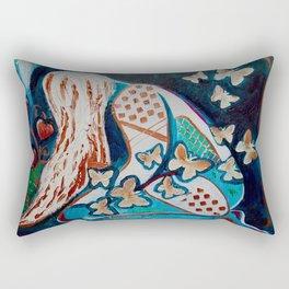 Drained Rectangular Pillow
