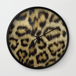 Leopard Fur Wall Clock