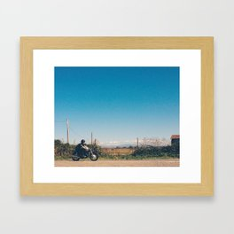 Afternoon Ride Framed Art Print