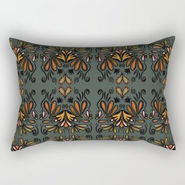 Paisley en fleur-fall-repeat Rectangular Pillow