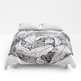 Colour-It-In Nature Poster Comforters