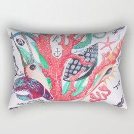 Ocean Arrangements Rectangular Pillow