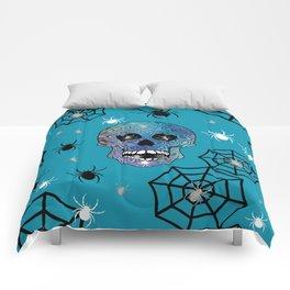 Creepy Crawling Spiders Comforters