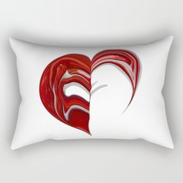 Love formation Rectangular Pillow