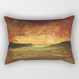 Sunset Experiment Rectangular Pillow