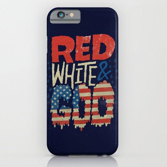 Red, White, & Goo iPhone & iPod Case