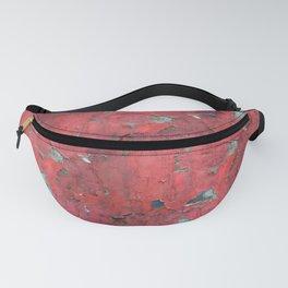 Rust, retro metal texture Fanny Pack