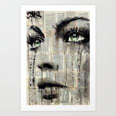 TERRA NOVA Art Print
