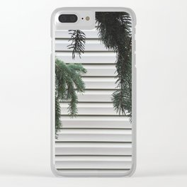 Hanging Pines Clear iPhone Case